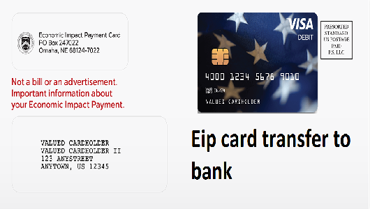 Eip card transfer to bank